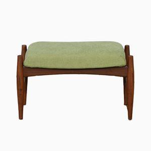 Mid-Century Dutch Green Footstool