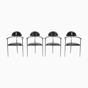 Stiletto Side Chairs from Arrben, 1960s, Set of 4