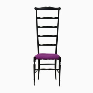 Ladder Side Chair from Chiavari, 1940s