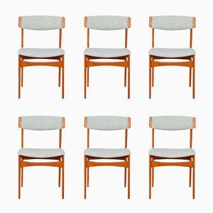 Mid-Century Teak Dining Chairs, Set of 6