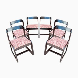 Chairs by Willy Rizzo for Mario Sabot, 1970s, Set of 6