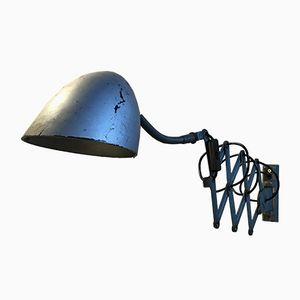 Vintage Industrial Scissor Lamp, 1970s