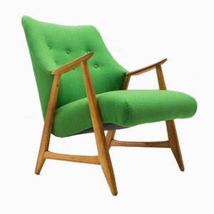 Green Mid-Century Armchair