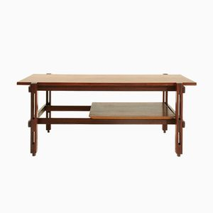 Mid-Century Italian Teak Coffee Table, 1960s