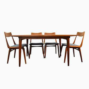 Boomerang Model 371 Teak Dining Set by Erik & Alfred Christensen for Slagelse Møbelværk, 1960s
