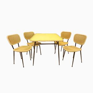 Dining Set by Janine Abraham for Rougier, 1950s