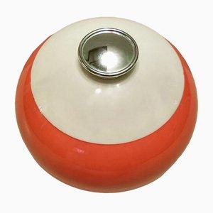 Vintage Round Clementine Ice Bucket, 1970s