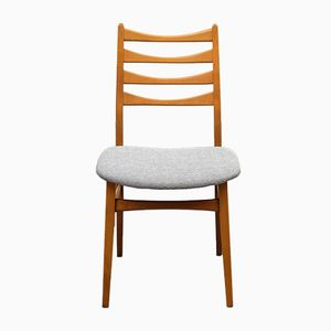 Ladder-Back Chairs, 1960s, Set of 4