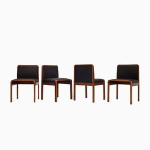 Vintage Italian Chairs from Cinova, 1970s, Set of 4