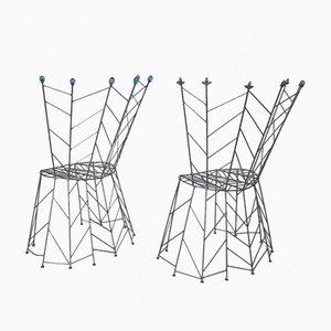 Vintage Pupeny Chairs by Bohuslav Horak, 1988, Set of 2