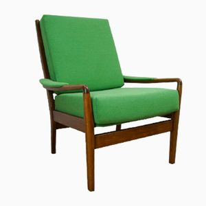 Vintage Green Armchair from Parker Knoll, 1960s