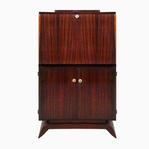 Vintage Art Deco Rosewood Veneer Secretaire
