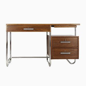 Tubular Steel Desk from Hynek Gottwald, 1930s
