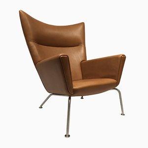 Mid-Century Model CH445 Wing Chair by Hans J. Wegner for Carl Hansen & Søn