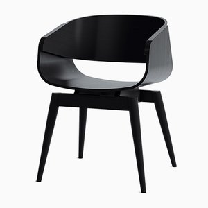 4th Armchair in Black by Almost