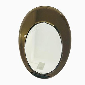 Oval Mirror by Max Ingrand for Fontana Arte, 1970s