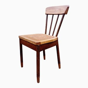 Vintage French Oak Chair, 1920s