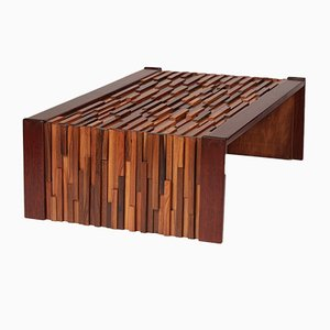 Jacaranda Coffee Table by Percival Lafer, 1970s