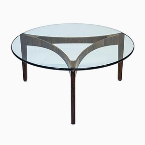 Palisander Coffee Table by Svend Ellekaer for Christian Linneberg Møbelfabrik, 1960s