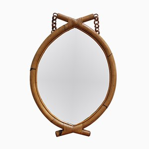 Italian Eye-Shaped Mirror, 1960s