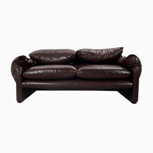Mid-Century Maralunga 675 Sofa by Vico Magistretti for Cassina