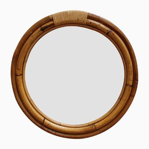 Italian Porthole-Style Mirror, 1960s
