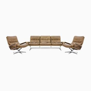 Mid-Century King Living Room Set by André Vandenbeuck for Strässle Switzerland, 1965