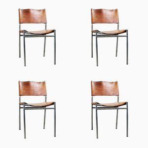 SE06 Side Chairs by Martin Visser for 't Spectrum, 1962, Set of 4