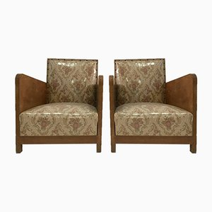 Art Deco Chairs, 1960s, Set of 2