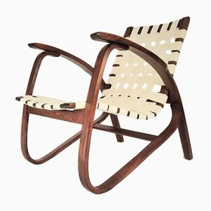 Lounge Chair by Jan Vanek for UP Závody, 1930s