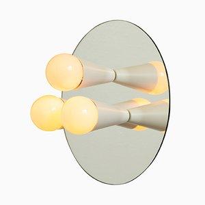 Weiße Echo 3 Wandlampe von Shaun Kasperbauer für Souda