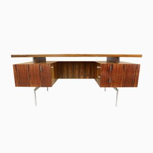 Minimalist Rosewood Propos Writing Desk from Hulmefa, 1960s