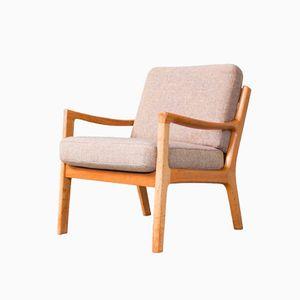 Teak Senator Lounge Chair by Ole Wanscher for Cado, 1960s