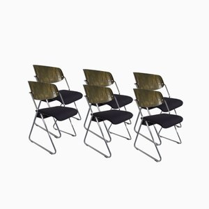 Side Chairs by Georg Leowald for Wilkhahn, 1960s, Set of 6