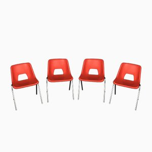 Chairs by N. Gammelgaard for Ikea, 1980s, Set of 4