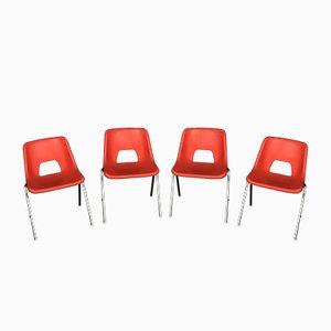 Stühle von N. Gammelgaard für Ikea, 1980er, 4er Set
