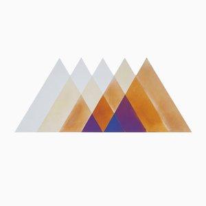 Grand Miroir Transience Triangles par David Derksen & Lex Pott pour Transnatural