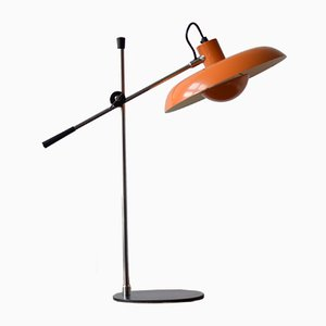 Mid-Century Orange RA-30 Desk Lamp by Piet Hein for Lyfa, 1970s