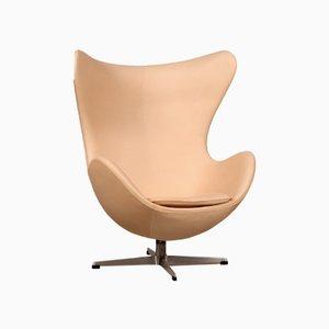 Mid-Century 3316 Kunstleder Egg Chair von Arne Jacobsen für Fritz Hansen, 1964