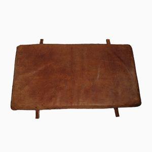 Vintage Leather Gymnastics Mat