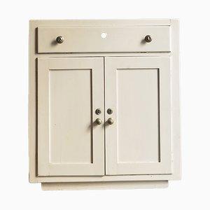 Vintage White Kitchen Cabinet, 1930s