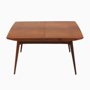 Mid-Century Extendable Table in Teak by Louis Van Teeffelen for WéBé