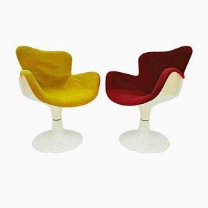 Trèfle Sessel von Adam Christian für Airborne, 1960er, 2er Set