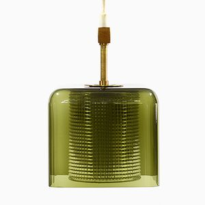 Square Pendant Light by Carl Fagerlund for Orrefors, 1960s