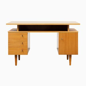 Elm Veneered Desk, 1960s