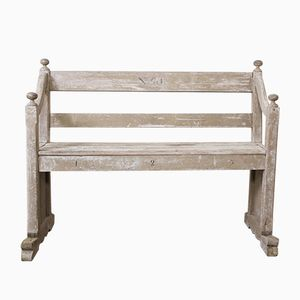 Antique Gothic Bench, 1840s