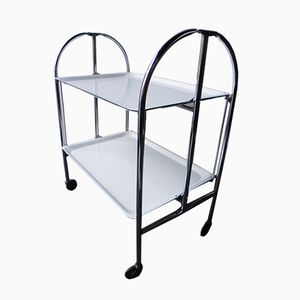 White Serving Trolley, 1960s