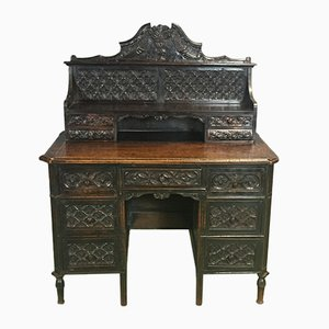 18th-Century Desk in Cherry