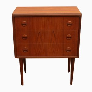 Danish Teak Commode, 1960s