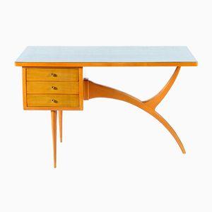 Italienischer Schreibtisch mit 3 Schubladen, 1958